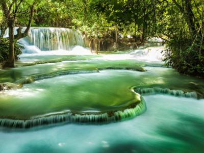kuansi waterfall